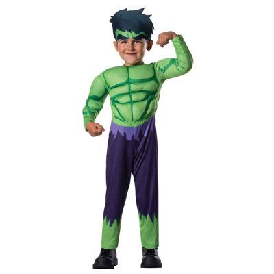 Avengers Assemble Hulk Toddler Costume 2-4T
