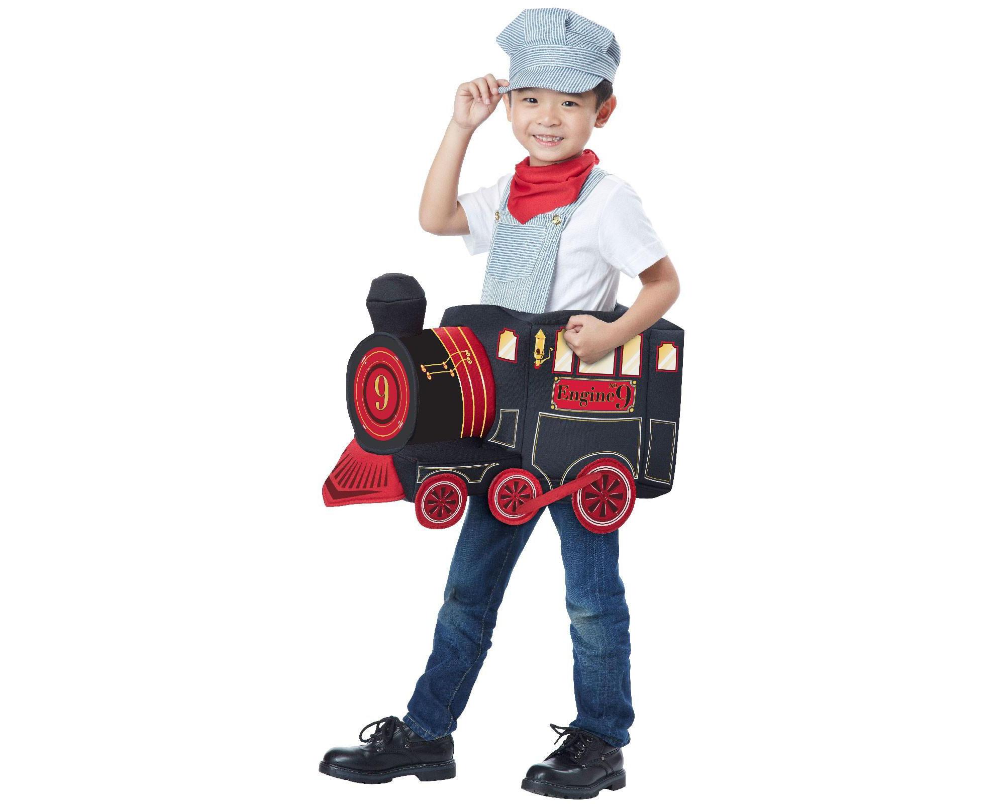 upc 019519115150 - train rider child halloween costume, 1 size