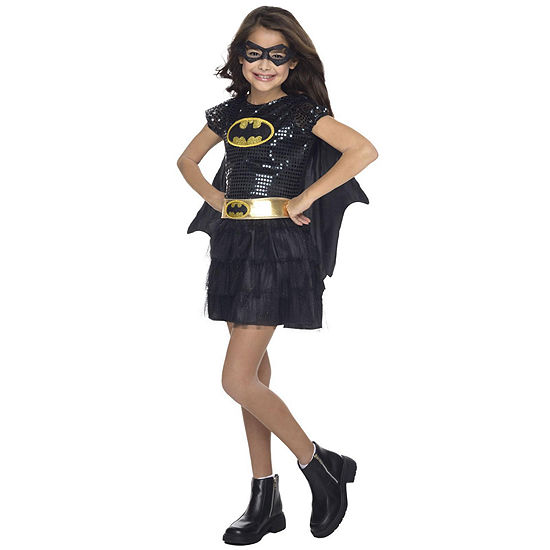 Batgirl Sequin Toddler Costume 2-4T