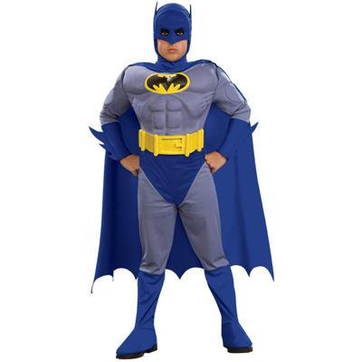 Batman Brave & Bold Deluxe M/C Batman Toddler / Child Costume - Toddler (2/4)