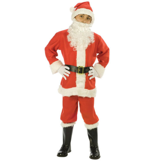 Santa Suit Child Costume