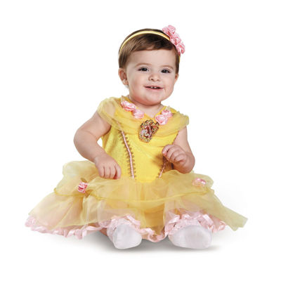 Disney Beauty and the Beast - Belle Infant Costume- 12-18mo
