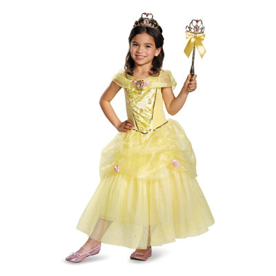 Belle Sparkle Deluxe Toddler Costume 2-4T