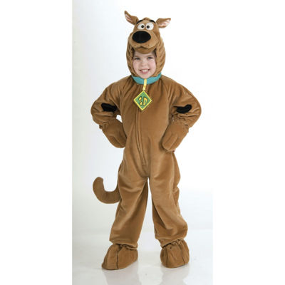 Scooby Doo Super Deluxe Velour Child Costume