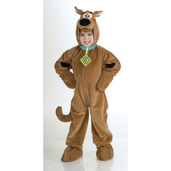 Scooby Doo Super Deluxe Velour Child Costume