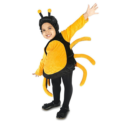 Black & Orange Spider Infant Costume