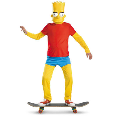 The Simpsons: Bart Deluxe Child Costume