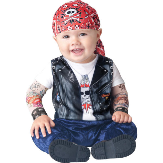 Born to be Wild Infant Costume