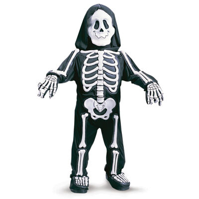 Skelebones Toddler / Child Costume - 3T-4T