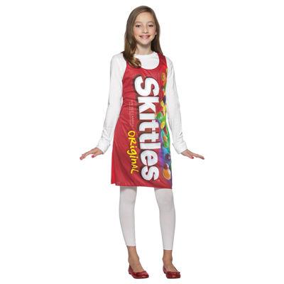 Skittles Tank Dress Tween/Teen Costume - Teen (13-16)