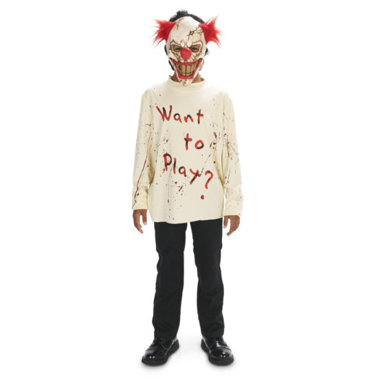 CarnEvil Playful Clown Child Costume