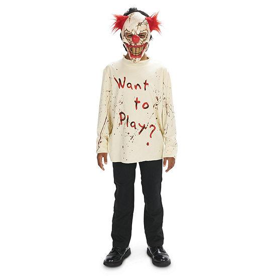 CarnEvil Playful Clown Child Costume