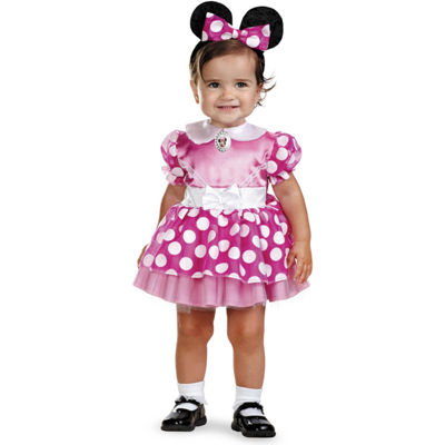 Clubhouse Minnie Mouse Pink Fancy Dress - Toddler 1218M