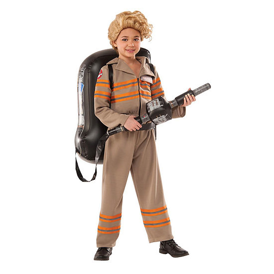 Ghostbusters Movie: Ghostbuster Female Deluxe Child Costume M Girls Costume
