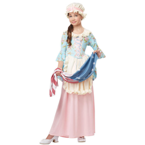 Colonial Lady Womens Costume
