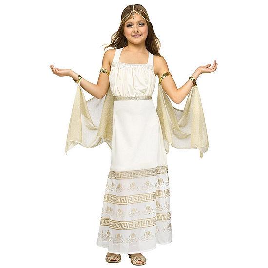 Golden Goddess Child Costume