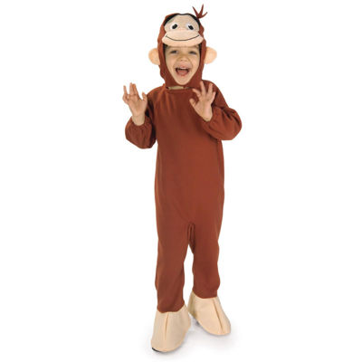 Curious George Toddler Costume - 2-4T