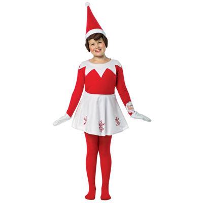 Elf on the Shelf Dress Child Costume - One-Size