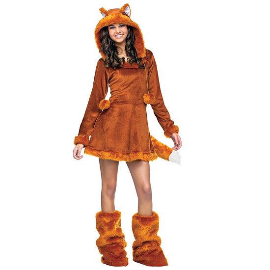 Sweet Fox Teen Costume Girls Costume