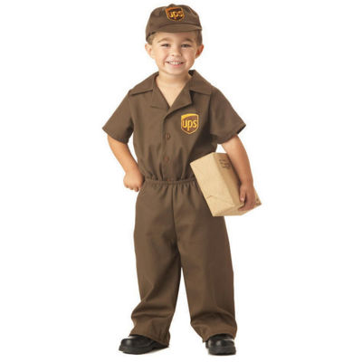 The UPS Guy Child Unisex Costume