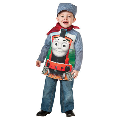 Thomas The Tank Deluxe James Toddler/Child Costume- Toddler (2-4)