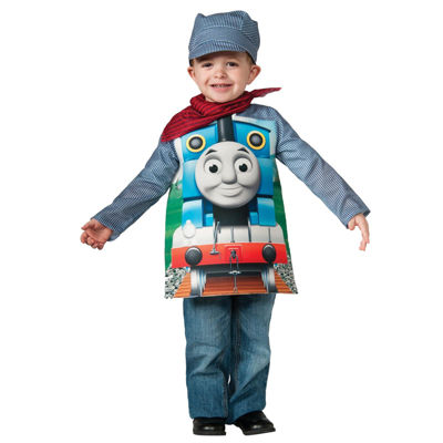 Deluxe Thomas The Tank Toddler/Child Costume - Small (4-6)