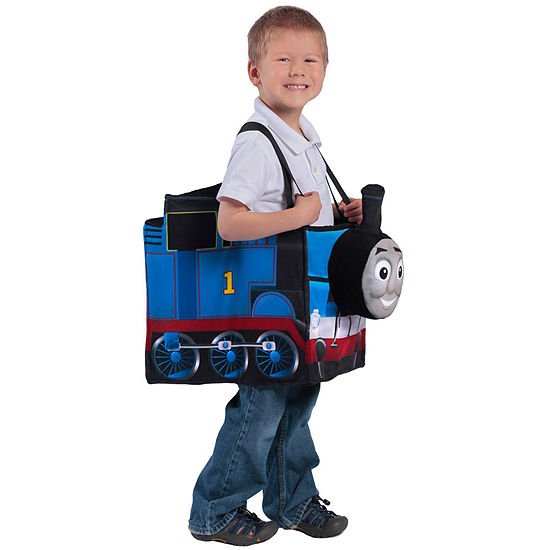 Thomas the Tank Engine Ride in Train Kid's Costume- One Size Fits Most
