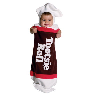 Tootsie Roll Baby Bunting  Infant Costume - Infant(3-9months)