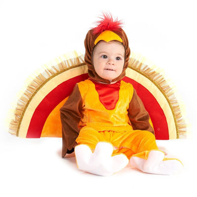 Turkey Tot Trot Infant Costume