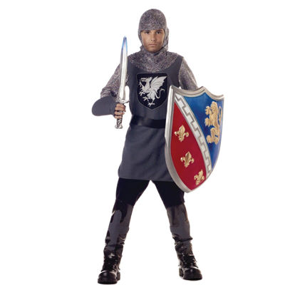 Valiant Knight Child Costume