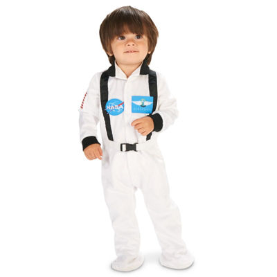 White Astronaut Infant Costume