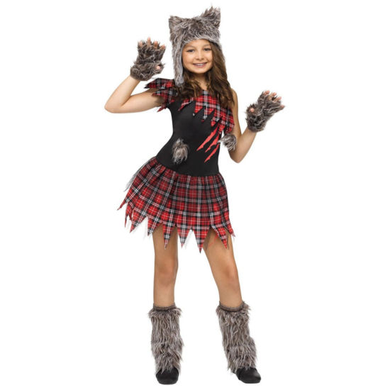 Wickd Wolfie Child Costume