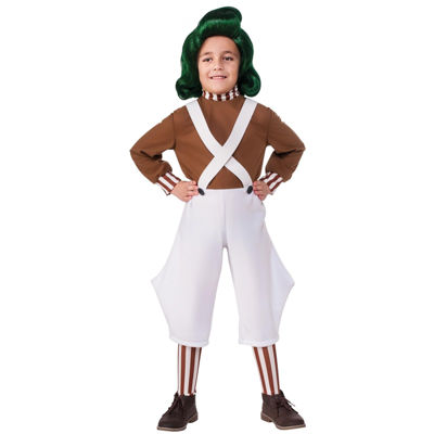 Willy Wonka & the Chocolate Factory Oompa Loompa Classic Child Costume