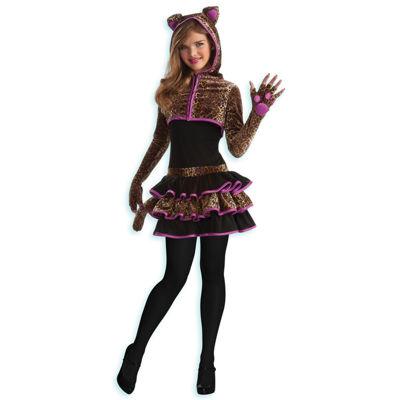 Leopard Tween Size Costume