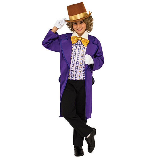 Willy Wonka & the Chocolate Factory Willy Wonka Classic Child Costume