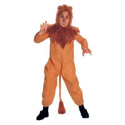 The Wizard Of Oz Cowardly Lion Child Costume Boys Costume