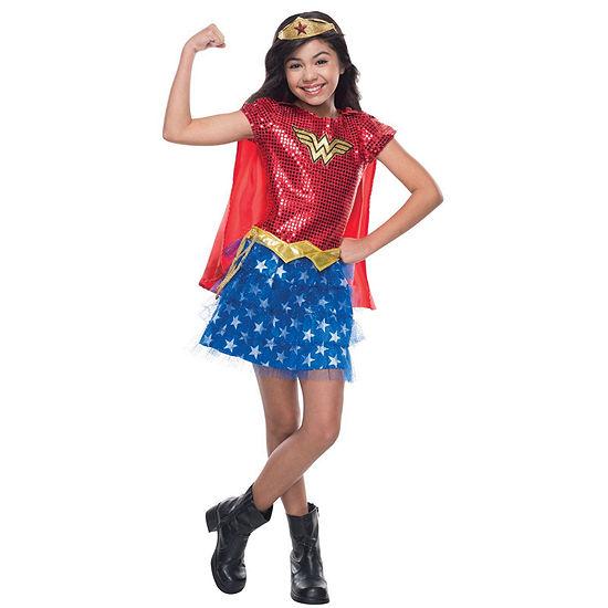Wonder Woman Sequin Toddler Costume - 2-4T