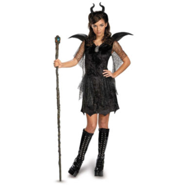 Maleficent Black Gown TweenTeen Costume