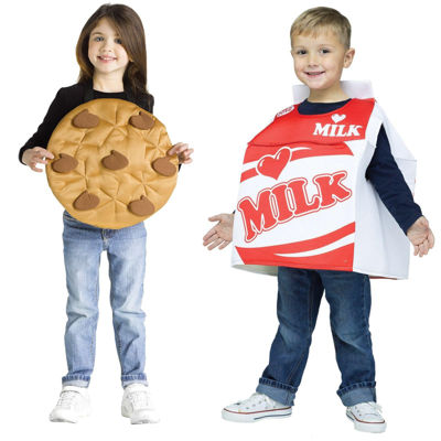 Milk and Cookie Toddler Costume 2-4T