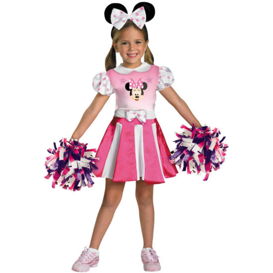 Mickey Mouse Clubhouse - Minnie Mouse CheerleaderToddler/Child Costume