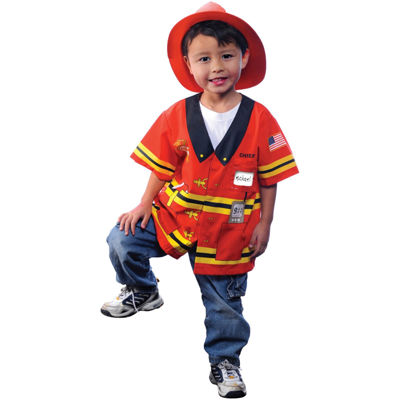 My first career gear  Firefighter Child Costume