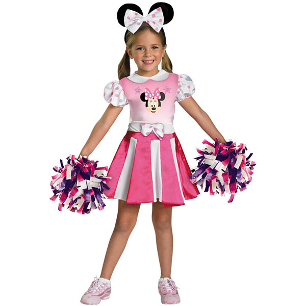 Minnie Mouse Cheerleader Toddler Costume