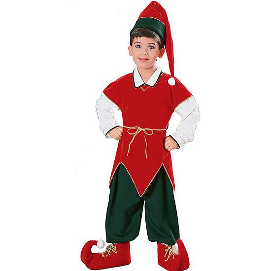Buyseasons Velvet Elf Child Boys Costume