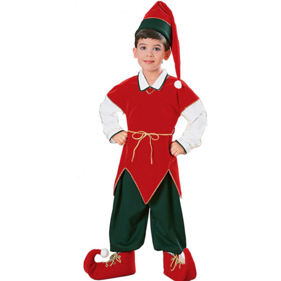 Velvet Elf Child Costume