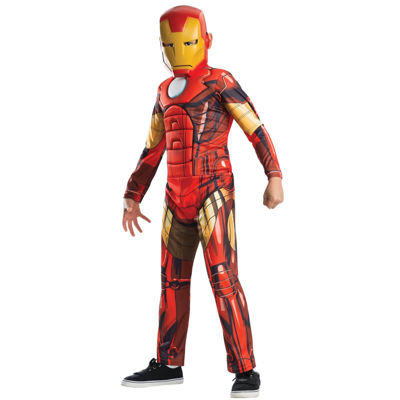 Avengers Assemble Deluxe Iron Man Child Costume -Small (4-6)