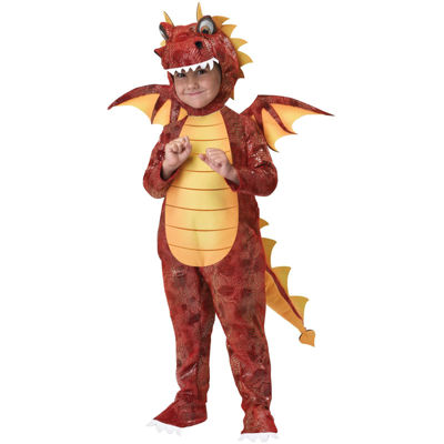 Fire Breathing Dragon Child Costume - Size 4-6
