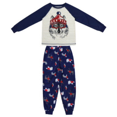 #FAMJAMS Woodland Creatures Family Pajama Set- Toddler Boys