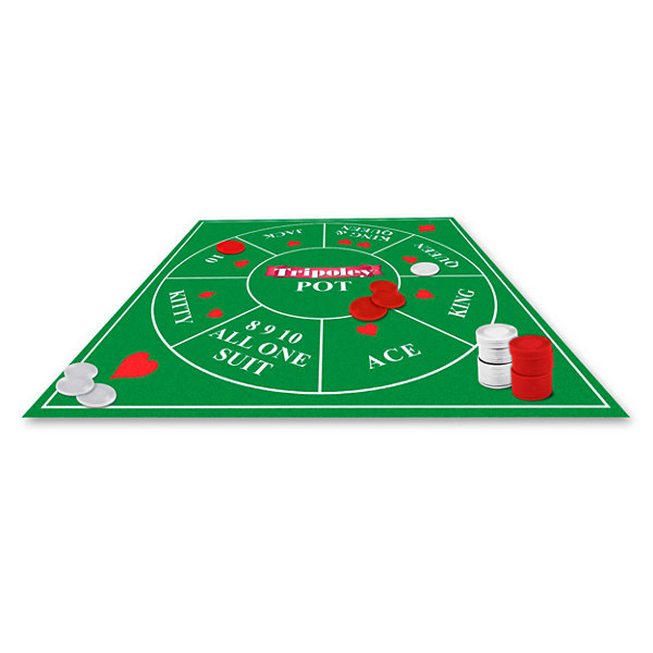 Cadaco Tripoley - Deluxe Mat Version Game