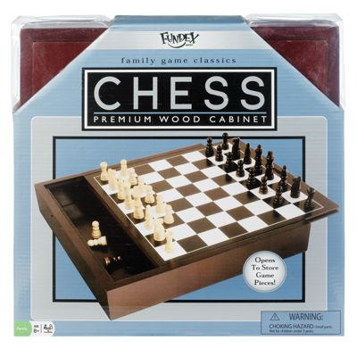 Fundex Games Premium Wood Chess