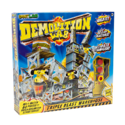 SmartLab Toys Demolition Lab - Triple Blast Warehouse